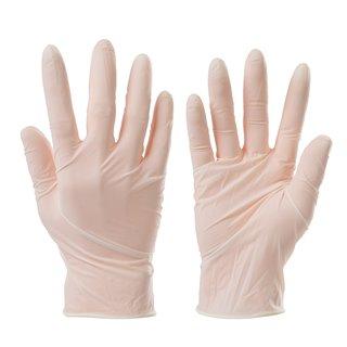 Lot de 100 gants vinyle jetables - Médium