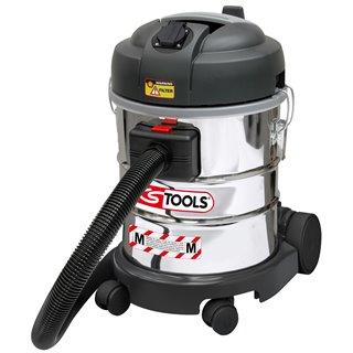 Aspirateur eau et poussière, 1400w, 20L avec filtre pour poussières fines