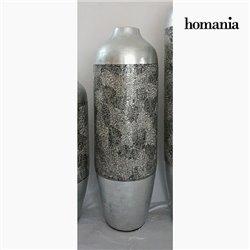 Vase bambou argenté by Homania