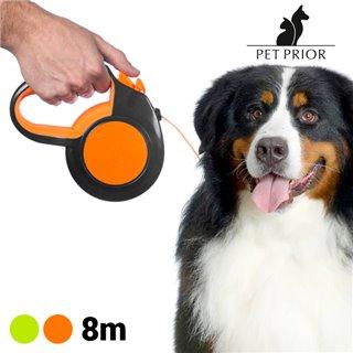 Laisse pour Chien Extensible Pet Prior (8 m)-Couleur-Vert