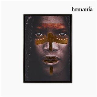 Cadre Numérique Peint Tribu (65 x 93 cm) by Homania