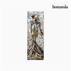 Cadre Huile Femme (50 x 150 cm) by Homania