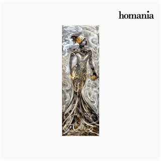 Cadre Huile Femme (50 x 150 cm) by Homania