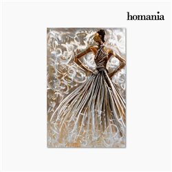 Cadre Huile Femme (80 x 120 cm) by Homania