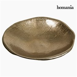 Centre de Table Circulaire Champagne - Collection New York by Homania