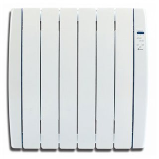 Emetteur Thermique Numérique Fluide (6 modules) Haverland RC6TT 750W Courbe Blanc