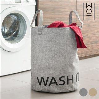 Sac à Linge Sale Washit Wagon Trend-Couleur-Gris