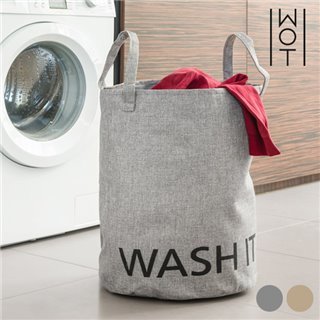 Sac à Linge Sale Washit Wagon Trend-Couleur-Gris