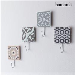 Mosaïque Décorative avec Porte-Manteau by Homania