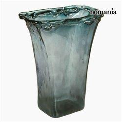 Vase en Verre Recyclé Gris Transparent - Collection Crystal Colours Deco by Homania