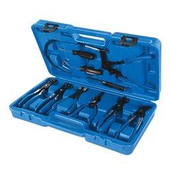 Jeu de pinces pour colliers de serrage, 9 pcs - 18 - 54 mm