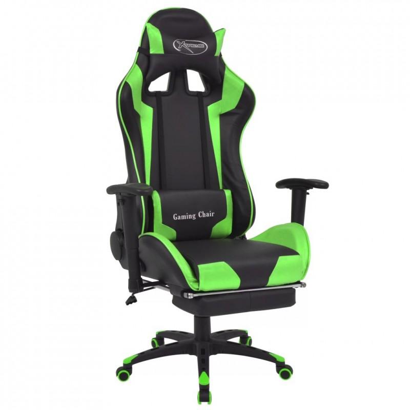Superb Details Sur Vidaxl Chaise De Bureau Inclinable Avec Repose Pied Vert Lamtechconsult Wood Chair Design Ideas Lamtechconsultcom