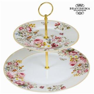 Présentoir bloom white - Collection Kitchen's Deco by Bravissima Kitchen