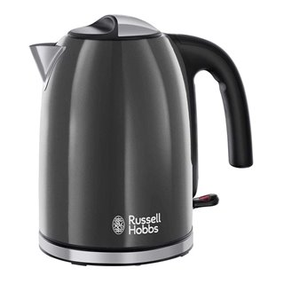Boulloire Russell Hobbs 222221 2400W 1,7 L Gris Noir
