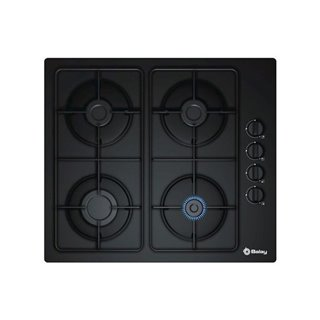 Plaque au gaz Balay 3ETG464MB 60 cm Noir Verre (4 cuisinière)