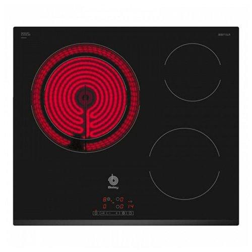Plaques vitro céramiques Balay 3EB715LR 5700W 60 cm Noir