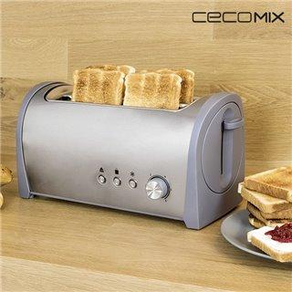 Grille-Pain Cecomix Steel 2L 3037 1400W