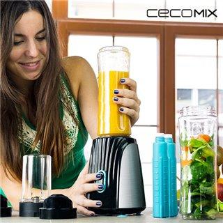 Blender en Verre Cecomix Titanium Two 4066 350W