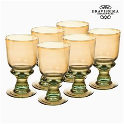 Verres en Verre Recyclé (6 pcs) (25 cl) - Collection Queen Kitchen by Bravissima Kitchen