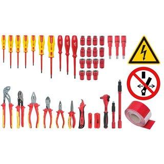 Coffret d'outils isolés pour véhicules hybrides et électriques
