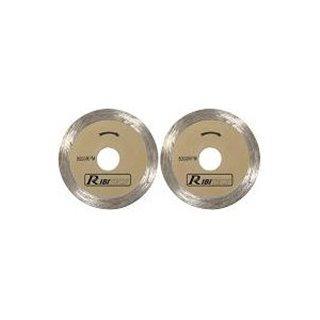 Lot de 2 disques diamantés coupe carrelage pour mini scie PRKIT7TSM