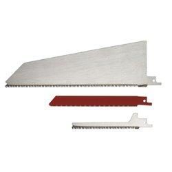 Kit 3 lames bois/plastique/metal pour scie alternative