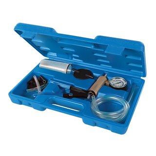 Pompe à vide et outils de purge pour systèmes de freinage et d'embrayage, 16 pcs - 16 pcs