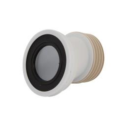 Sortie de cuvette WC excentrée 110 mm - Excent. 20 mm