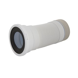 Sortie de WC droite flexible 110 mm - 240 - 450 mm