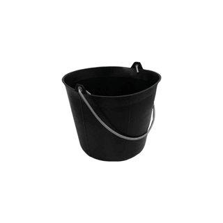 Seau De Maçon - 11 L - Pvc - Noir