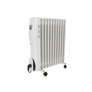 Radiateur À Bain D'Huile - 2500 W - 11 Ailettes - Écran Lcd