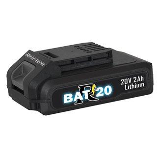 """Batterie 20 volt, 2 Amp pour gamme """"R-BAT20"""""""