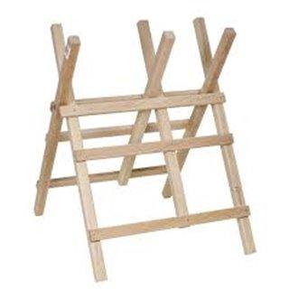 Chevalet bois pour sciage H.90cm , larg.63cm , section 40x35mm avec chaine