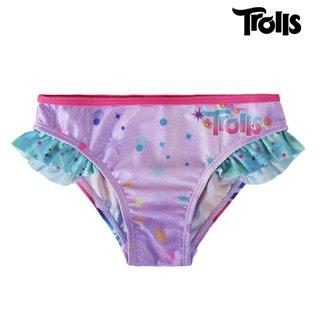 Bas de Bikini pour Filles Trolls-Taille -7 ans