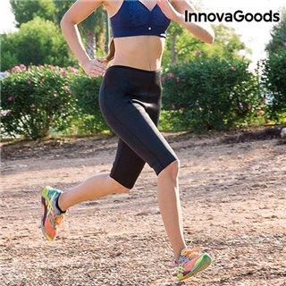 Leggings de Sport Corsaire avec Effet Sauna Amincissant InnovaGoods-Taille -L