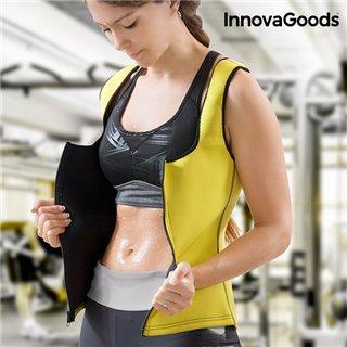 Gilet de Sport avec Effet Sauna pour Femme InnovaGoods-Taille -XL