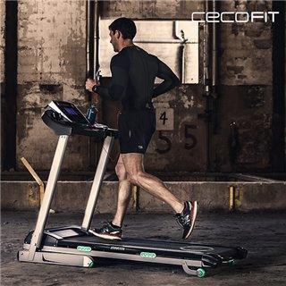 Tapis de Course Pliable Cecofit Track 7011