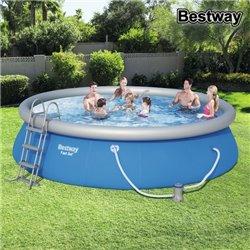 Piscine Circulaire avec Épurateur Bestway 57294 Bleu