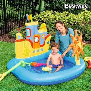 Jeu gonflable Bestway 52211 84 L (140 x 130 x 104 cm) Vinyle