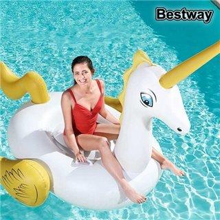 Personnage pour piscine gonflable Bestway 41107 (220 x 195 cm) Blanc Jaune