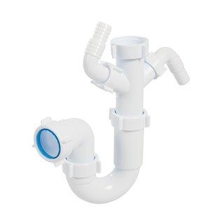 Siphon pour évier et lavabo - 40 mm