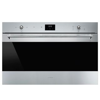 Four au gaz Smeg SF9300GVX 116 L Display LED 2900W Acier inoxydable