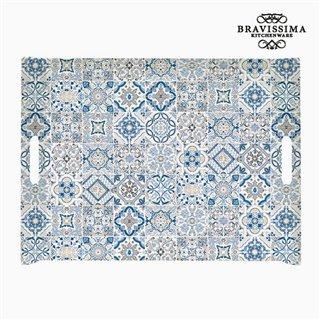 Plateau Porcelaine Bleu by Bravissima Kitchen