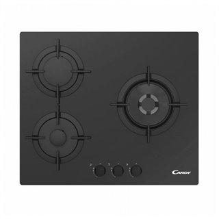 Plaque au gaz Candy CVG 63 SWPN 60 cm Noir (3 cuisinière)