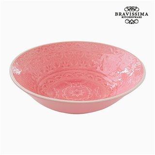 Assiette creuse Porcelaine Corail by Bravissima Kitchen