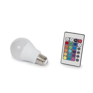 Lampe Led - 7.5 W - E27 - Rvb & Blanc Chaud
