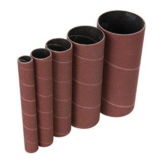 Manchons de ponçage corindon 5 pcs - 5 manchons de ponçage TSPSS150G5PK grains 150