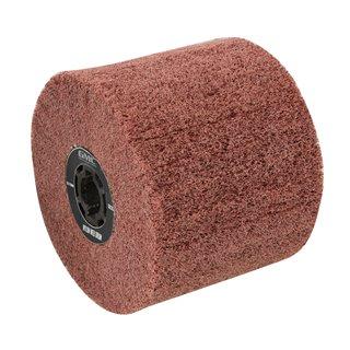 Rouleau abrasif nylon - Rouleau abrasif nylon 100 x 115 mm, Grain 80