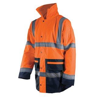 Veste bicolore haute visibilité - classe 3 - Taille  XL (108-116 cm)
