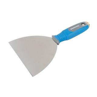 Couteau à enduire avec porte-embout - 150 mm
